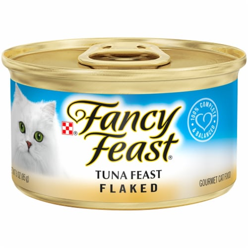 Fancy Feast Flaked Tuna Wet Cat Food Perspective: front