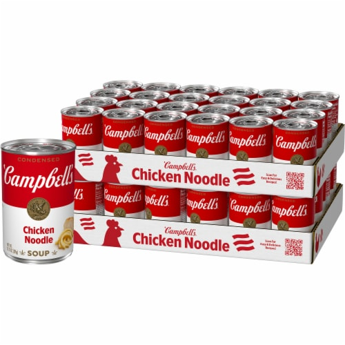 Campbell's Condensed Chicken Noodle Soup Case Sale Perspective: front
