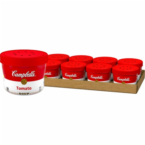 Campbell's Tomato Soup Case 8 Count Perspective: front