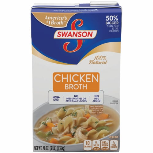 Swanson Chicken Broth Perspective: front