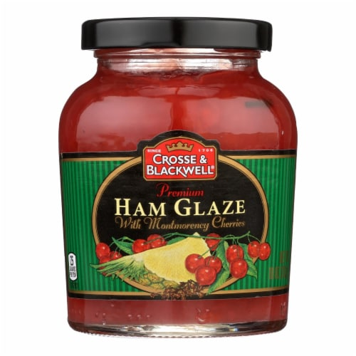 Crosse and Blackwell Meat Sauce - Ham Glaze - Case of 6 - 10 oz. Perspective: front