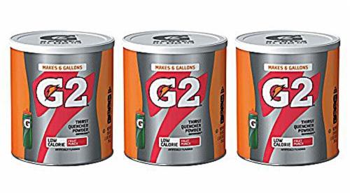 Gatorade G2 Powder Mix Perspective: front