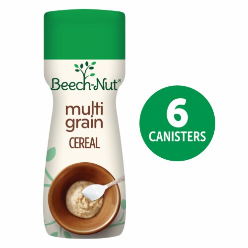 Beech-Nut Organic Complete Multigrain Stage 1 Baby Cereal Perspective: front