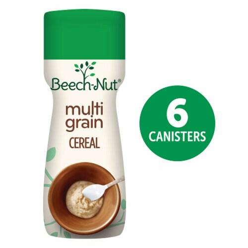 Beech-Nut Organic Complete Multigrain Baby Cereal 6 Count Perspective: front