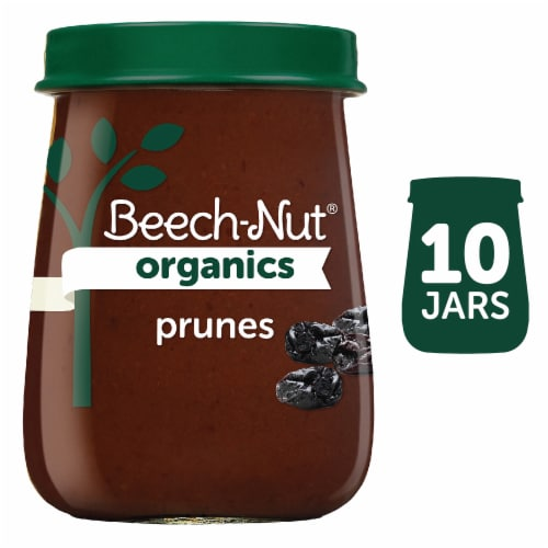 Beech-Nut Organics Prunes Stage 1 Baby Food Perspective: front