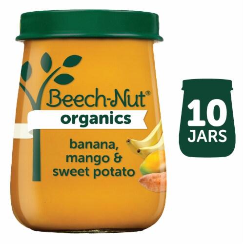 Beech-Nut Organics Banana Mango Sweet Potato Stage 2 Baby Food Perspective: front