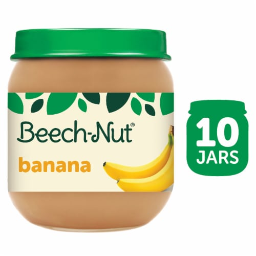 Beech-Nut Banana Stage 2 Baby Food Perspective: front