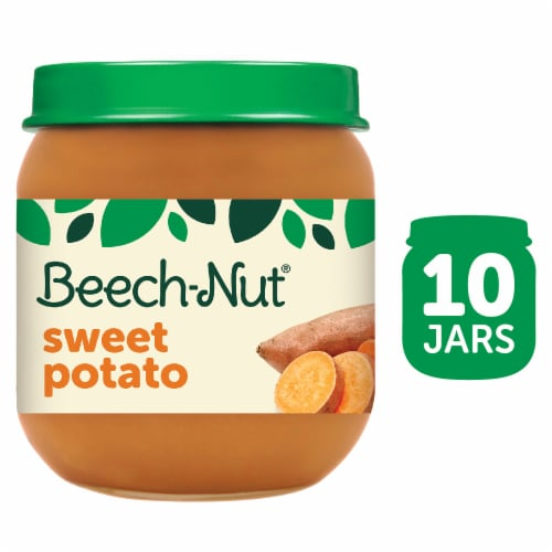 Beech-Nut Sweet Potato Stage 2 Baby Food Perspective: front