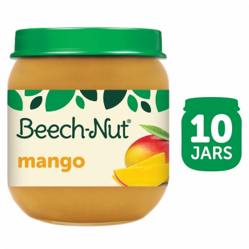 Beech-Nut Mango Stage 2 Baby Food Perspective: front