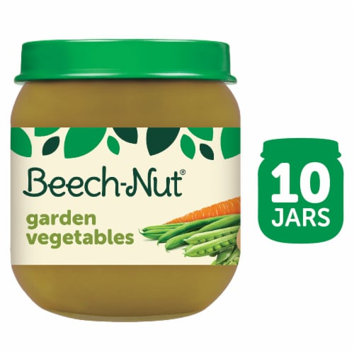 Beech-Nut Garden Vegetables Stage 2 Baby Food Perspective: front
