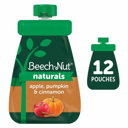 Beech-Nut Naturals Apple Pumpkin & Cinnamon Stage 2 Baby Food Perspective: front