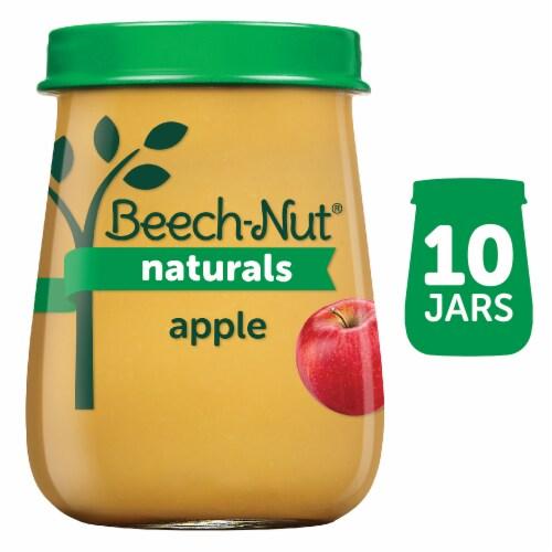 Beech-Nut Naturals Just Honeycrisp Apples Stage 1 Baby Food Perspective: front