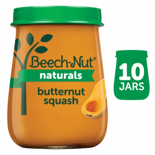 Beech-Nut Naturals Butternut Squash Stage 1 Baby Food Perspective: front