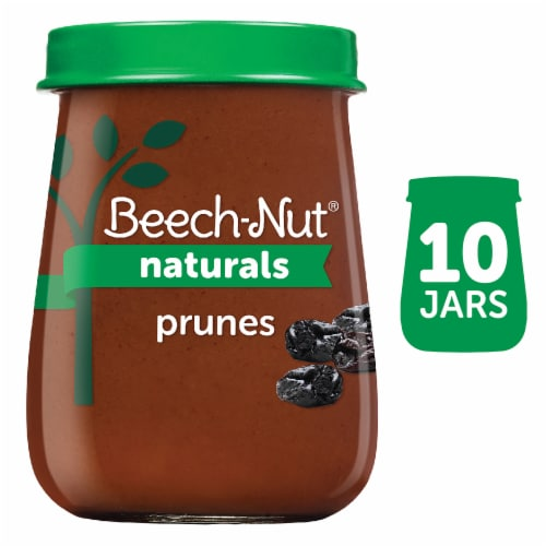 Beech-Nut Naturals Prunes Stage 1 Baby Food Perspective: front