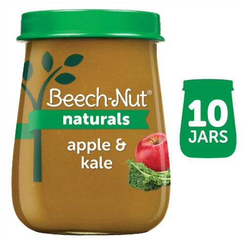 Beech-Nut Apple & Kale Stage 2 Baby Food Perspective: front