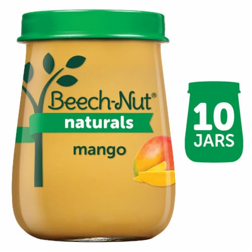Beech-Nut Naturals Mango Stage 2 Baby Food Perspective: front