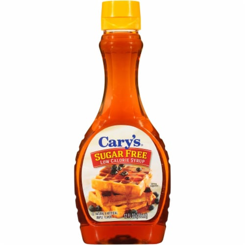 Cary's Sugar Free Low Calorie Syrup, 12 Fluid Ounce -- 12 per case. Perspective: front