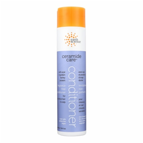 Earth Science Ceramide Care Fragrance Free Conditioner - 10 FL oz. Perspective: front