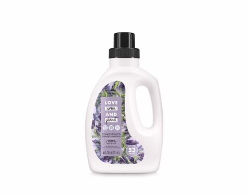 Love Home & Planet Peace & Calm Lavender & Argan Oil Concentrated Liquid Laundry Detergent Perspective: front