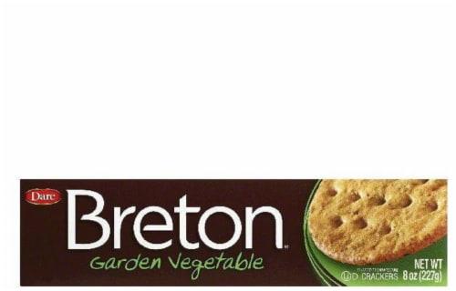 Dare Breton Crackers Mini Garden Vegetable, 8 OZ (Pack of 12) Perspective: front