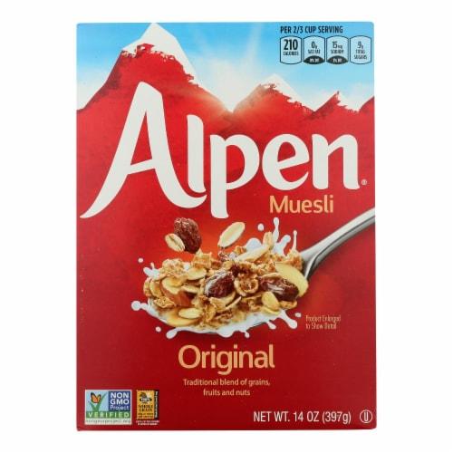 Alpen Original Muesli Cereal - 14 oz. Perspective: front