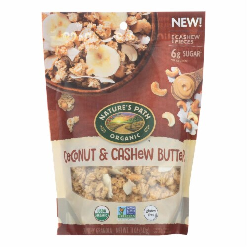 Nature's Path Granola - Organic - Coconut Cashew Butter - Case of 8 - 11 oz Perspective: front