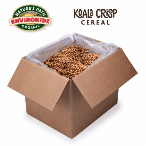 Nature's Path EnviroKidz Organic Koala Crisp Cold Cereal 240oz Bulk Box Perspective: front