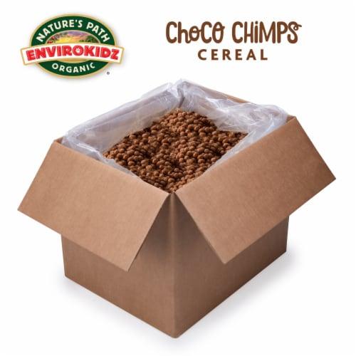 Nature's Path EnviroKidz Organic Choco Chimps Cold Cereal 160oz Bulk Box Perspective: front