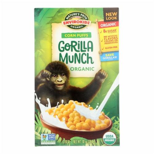 Envirokidz Organic Gorilla Munch Corn Puff Cereal Perspective: front