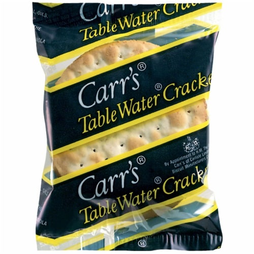 Cracker Keebler Carrs Royal Portion Table Water 200 Case 3 Count Perspective: front