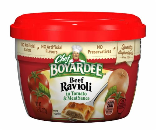 Chef Boyardee® Beef Ravioli in Tomato & Meat Sauce Perspective: front