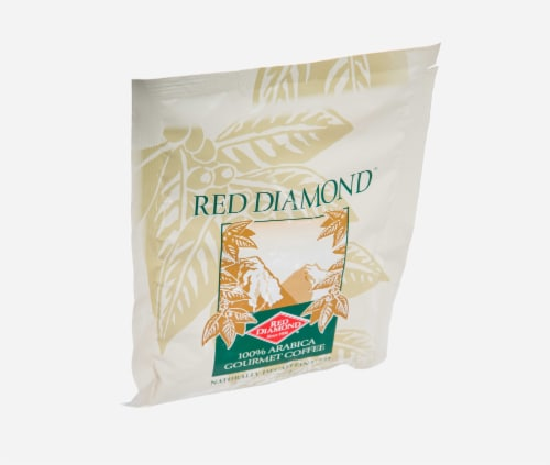 Red Diamond Decaffeinated 100 Percent Arabica Coffee, 15 Pound -- 1 each. Perspective: front