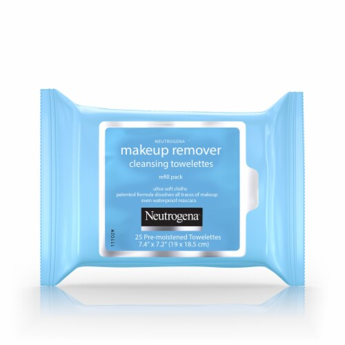 Neutrogena Makeup Remover Cleansing Towelettes Case Perspective: front