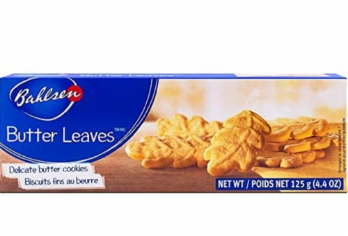 Bahlsen Butter Leaves Cookies, 4.4 Oz (Pack of 12) Perspective: front
