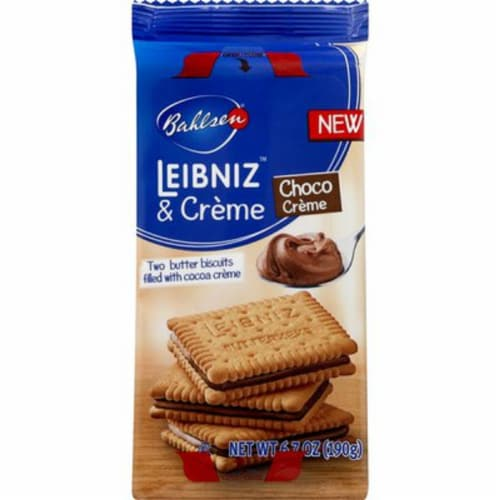 Bahlsen Biscuits Choco Crème,6.7oz (Pack of 10) Perspective: front