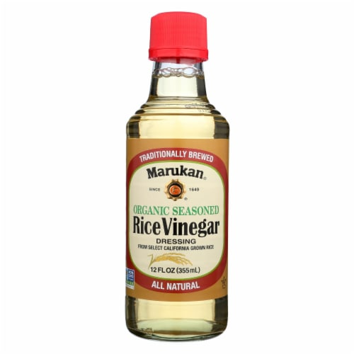 Marukan Rice Vinegar Dressing - Case of 6 - 12 FZ Perspective: front