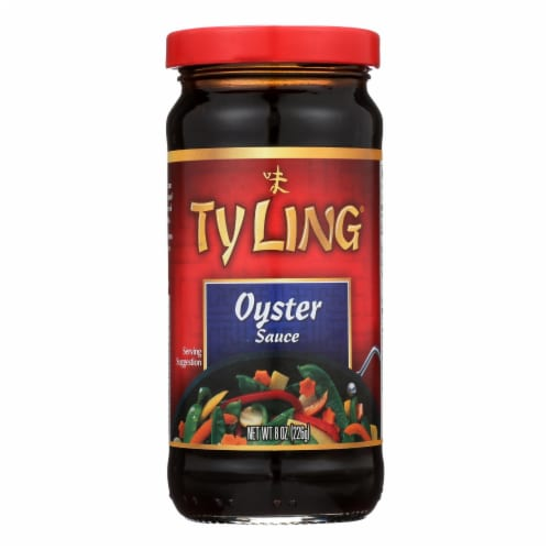 Ty Ling Oyster Sauce  - Case of 12 - 8 OZ Perspective: front