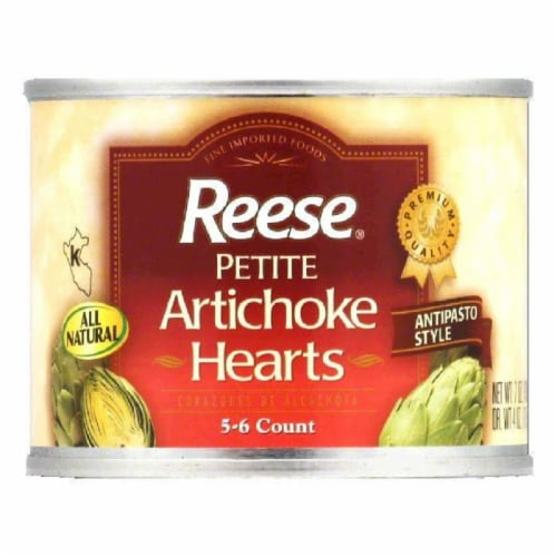 Reese Artichoke Petite Hearts, 7 OZ (Pack of 12) Perspective: front