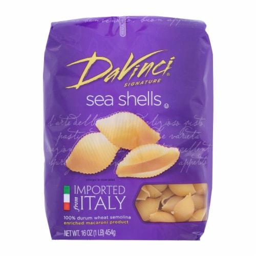 DaVinci - Sea Shells Pasta - 1 lb. Perspective: front