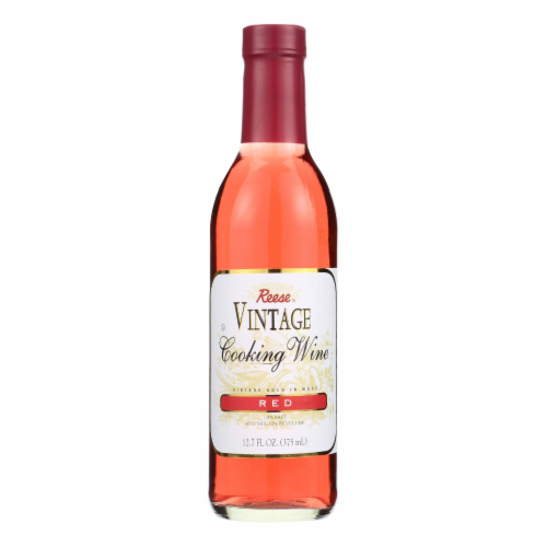 Reese Cooking Wine - Red - Case of 6 - 12.7 Fl oz. Perspective: front