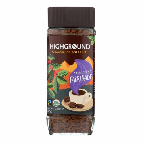 Highground - Coffee Regular Insnt - Case of 6 - 3.53 OZ Perspective: front