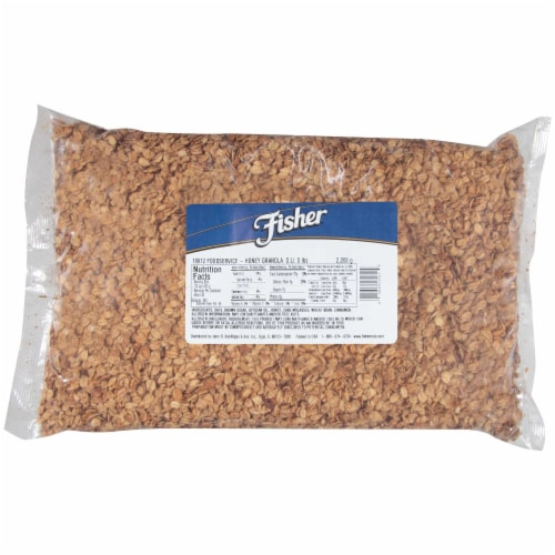 Fisher Honey Granola, 5 Pound -- 1 each. Perspective: front