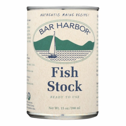 Bar Harbor - Fish Stock - Case of 6 - 15 oz. Perspective: front