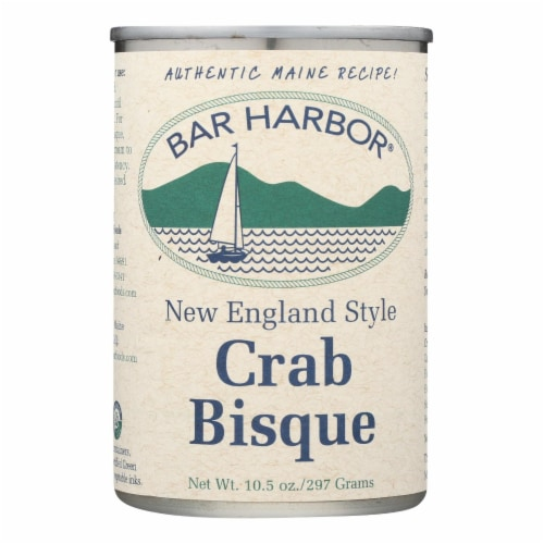 Bar Harbor New England Style Crab Bisque Soup Perspective: front