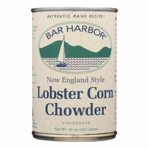 Bar Harbor - Lobster Corn Chowder - Case of 6 - 15 oz. Perspective: front