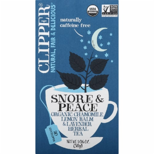 Clipper Chai Five Organic Chai Herbal Tea, 1.55 oz (Pack of 6) Perspective: front