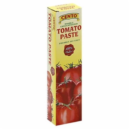 Cento Tomato Paste In A Tube, 4.6 oz [Pack of 12] Perspective: front
