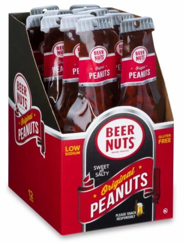 Beer Nuts Original Peanut Beer Bottle Bag, 1.75 Ounce -- 48 per case. Perspective: front