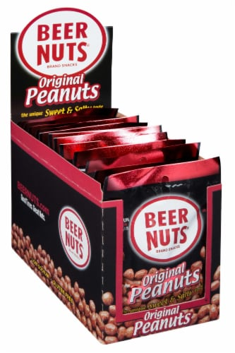 Beer Nuts Original Peanut, 3 Ounce - 12 per pack -- 48 packs per case. Perspective: front