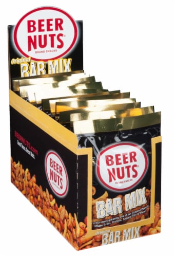 Beer Nuts Mid Size Bar Mix, 1.9 Ounce -- 48 per case. Perspective: front